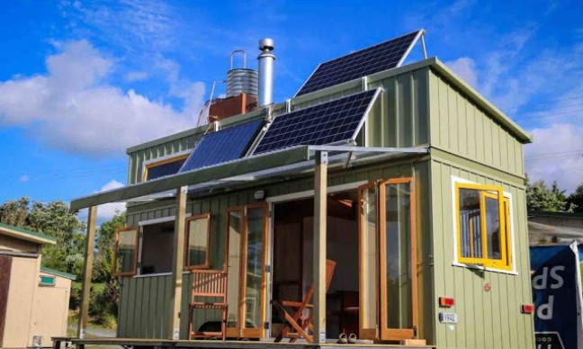 Beautiful Off Grid and Completely Custom 258sf Tiny House in New