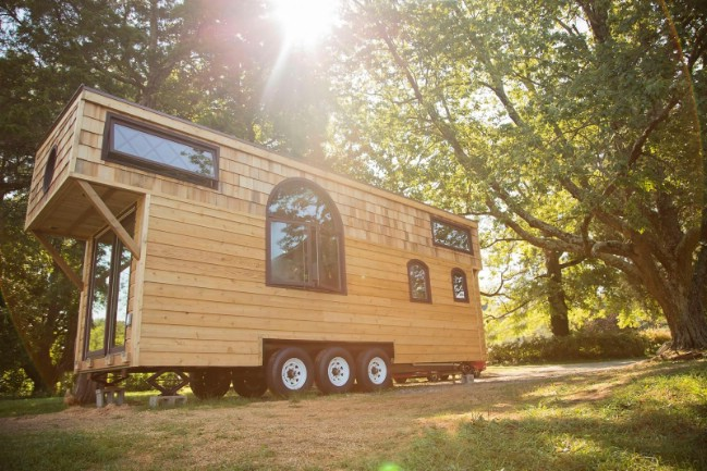 "300sf ""Old World Vermont"" Tiny House"