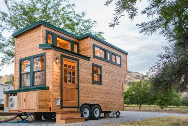 California tiny house company releases custom pet friendly home on 18 trailer