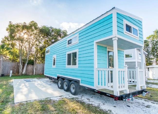 The Aqua Oasis Tiny House Tour