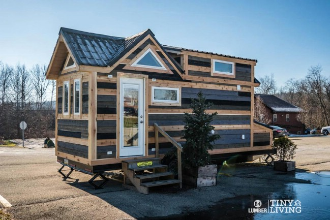 The Countryside Tiny House by 84 Lumber