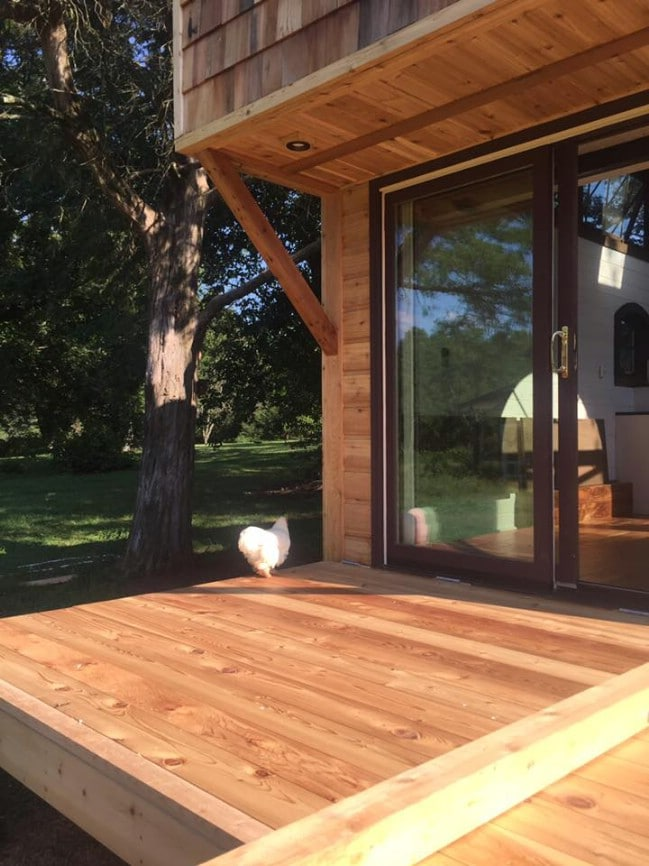 """300sf """"Old World Vermont"""" Tiny House"""