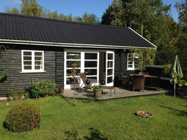 463sf Tiny House with All-White Interior for Sale in Denmark