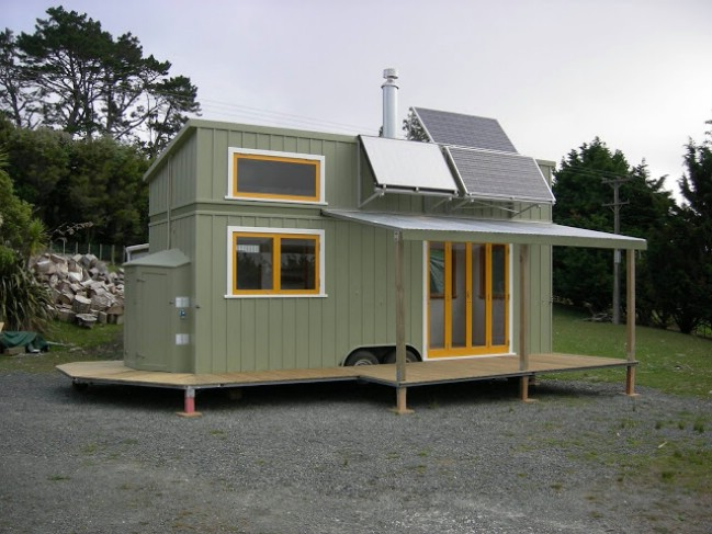 Beautiful Off Grid And Completely Custom 258sf Tiny House In New Zealand Tiny Houses