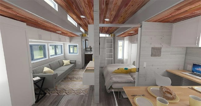 Looking For A Wide And Single Level Tiny House On Wheels We Found It
