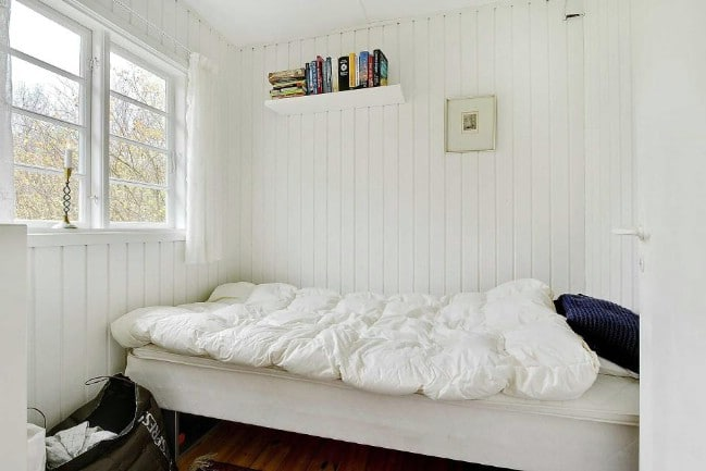 463sf Tiny House with All White Interior for Sale in Denmark