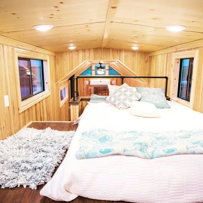 California Tiny House Designs and Builds a Rustic 28ft Home