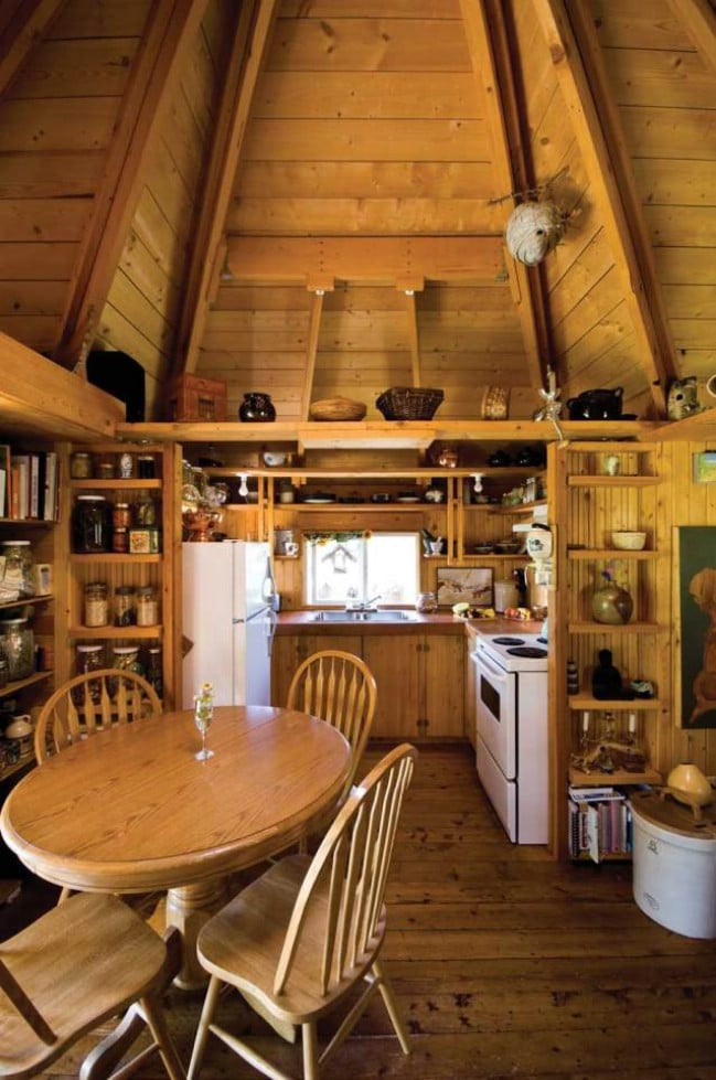 Cross Shaped 300sf Tiny House Designed With Tight Budget