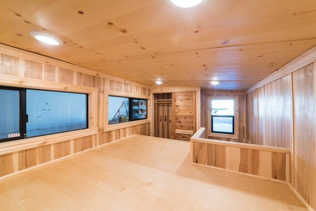Tiny Home Designs: California Tiny House Builder Creates Wooden Beauty On
