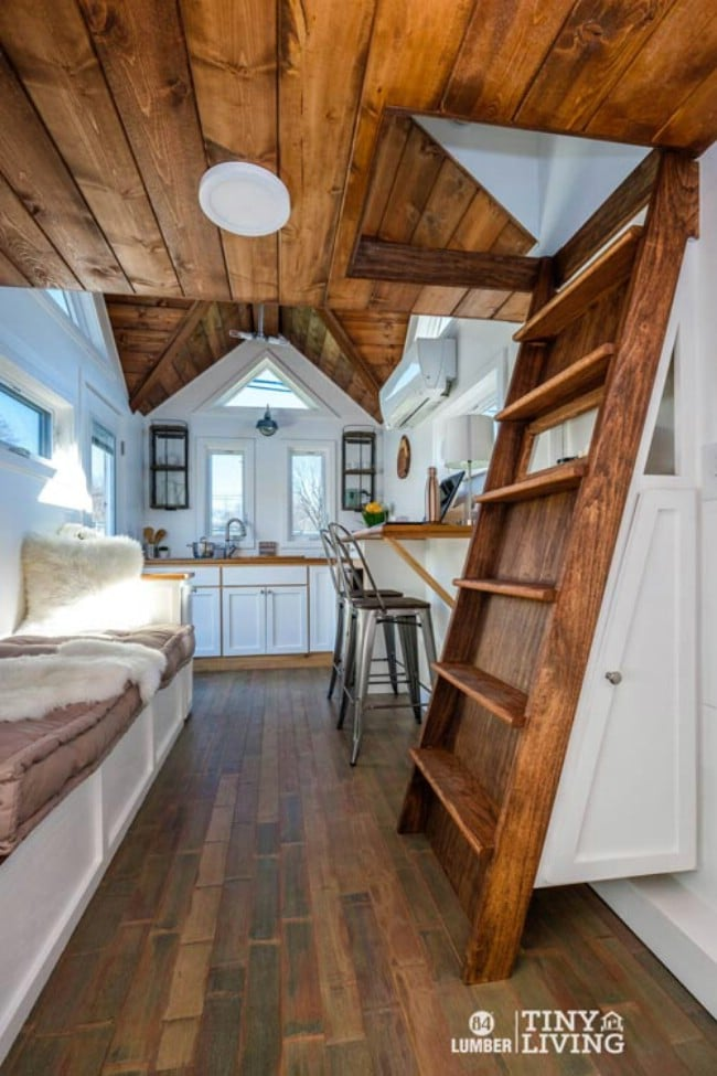 The Countryside Tiny House By 84 Lumber Is Rustic And