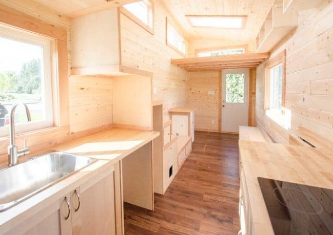 Canadian Tiny House Builders Design Sleek Warbler Home