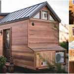 California Tiny House Designs and Builds a Rustic 28ft Home on Wheels