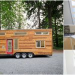 "Canadian Builders Design ""Whisky Jack"" Tiny House on 28' Trailer"