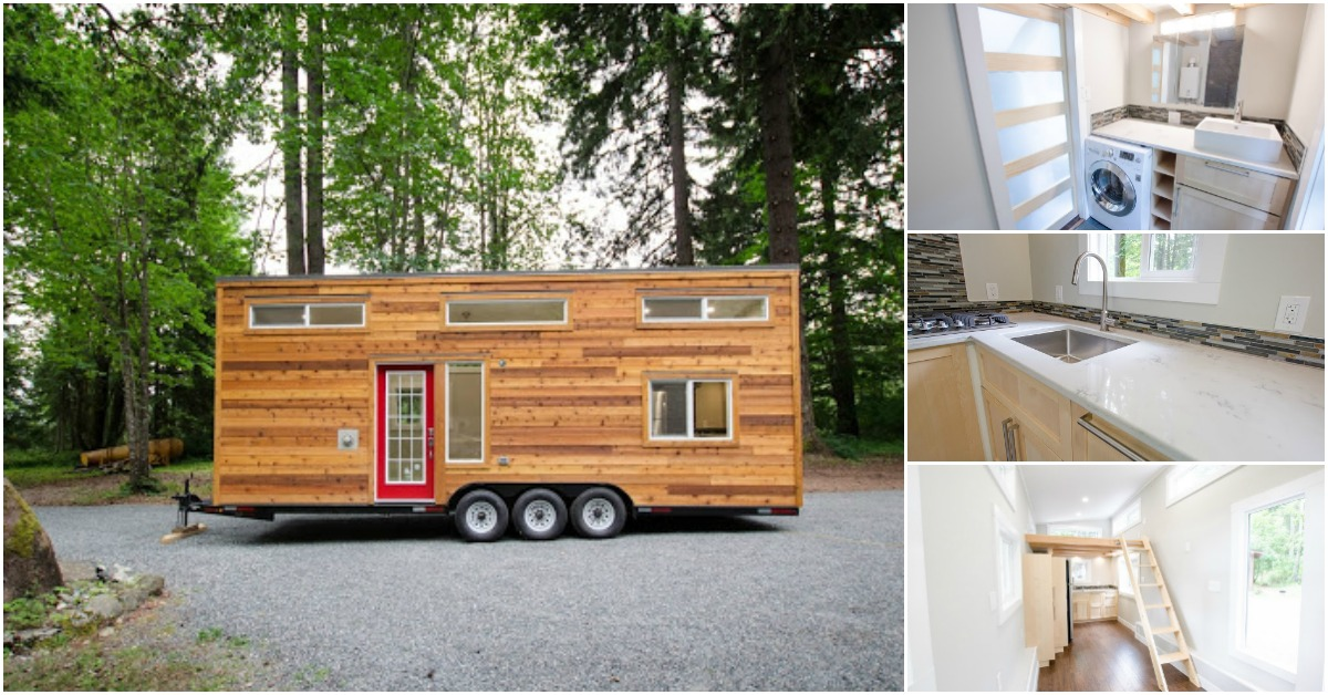 Canadian Builders Design Whisky Jack Tiny House On 28