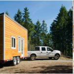 "Canadian Tiny House Builders Design Sleek ""Warbler"" Home on 24' Trailer"