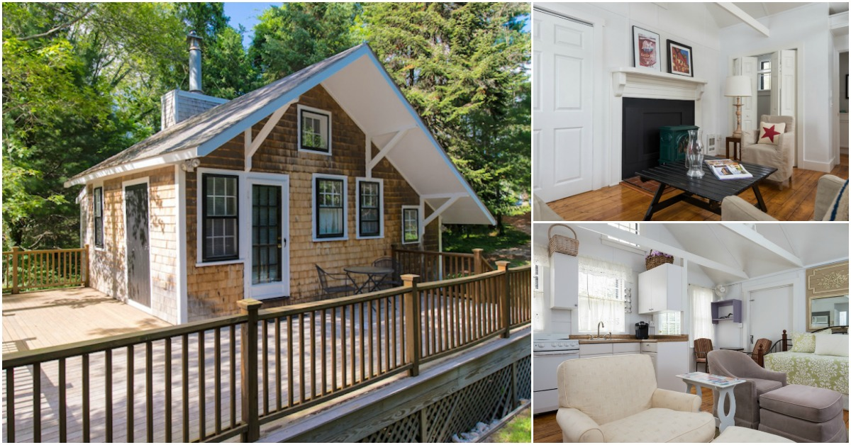 Tiny cape cod cottage gets a makeover and sells for for Bungalow di cape cod