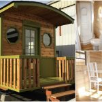 Hit the Road in this 198sf Irish Caravan by Tiny House Cottages