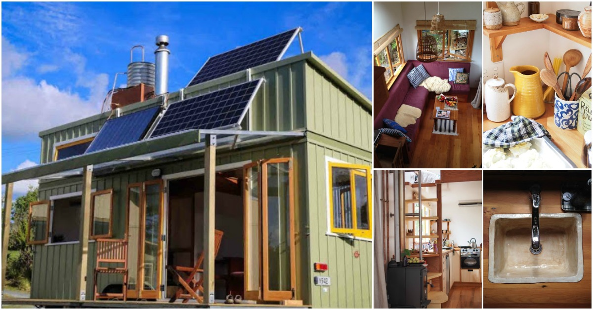 Tiny Home Designs: Beautiful, Off-Grid And Completely Custom 258sf Tiny House