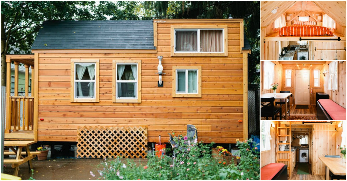 Beautifully Cozy And Rustic 255sf Tiny House Cabin For In Portland Houses
