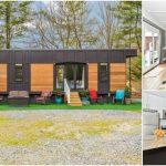 "Spacious and Rustic 420sf ""Dreamwood"" Tiny House for Sale in Maryland"