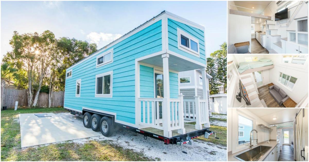 The Aqua Oasis Tiny House In Sarasota Sleeps Up To Six