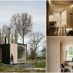 Architect Students Design the Fully Furnished and Mostly Wooden Ark Shelter from Belgium