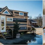 The Countryside Tiny House by 84 Lumber is Rustic and Elegant with Only 203sf