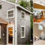 Tiny Cape Cod Cottage Packs Luxury into Small 350sf Footprint