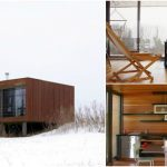 Violinist Builds 336sf Off-Grid Tiny House for Family Retreat in Pepin, Wisconsin