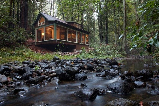 1920's Creekside Cabin - Tiny House Tour