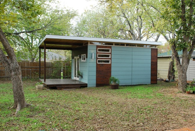 14x24 Modern Studio Luxe Tiny House by Kanga Room Systems