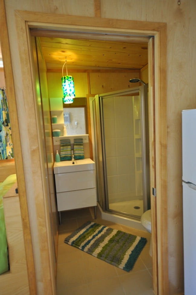 14x14 Modern Dwelling Double Tiny House with Breezeway by Kanga Room Systems