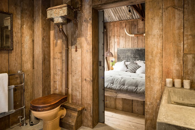 Perfect Couple's Retreat at the UK's Rustic Firefly Tiny House