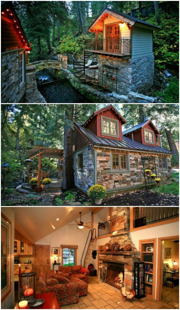 Storybook Stone Cottage