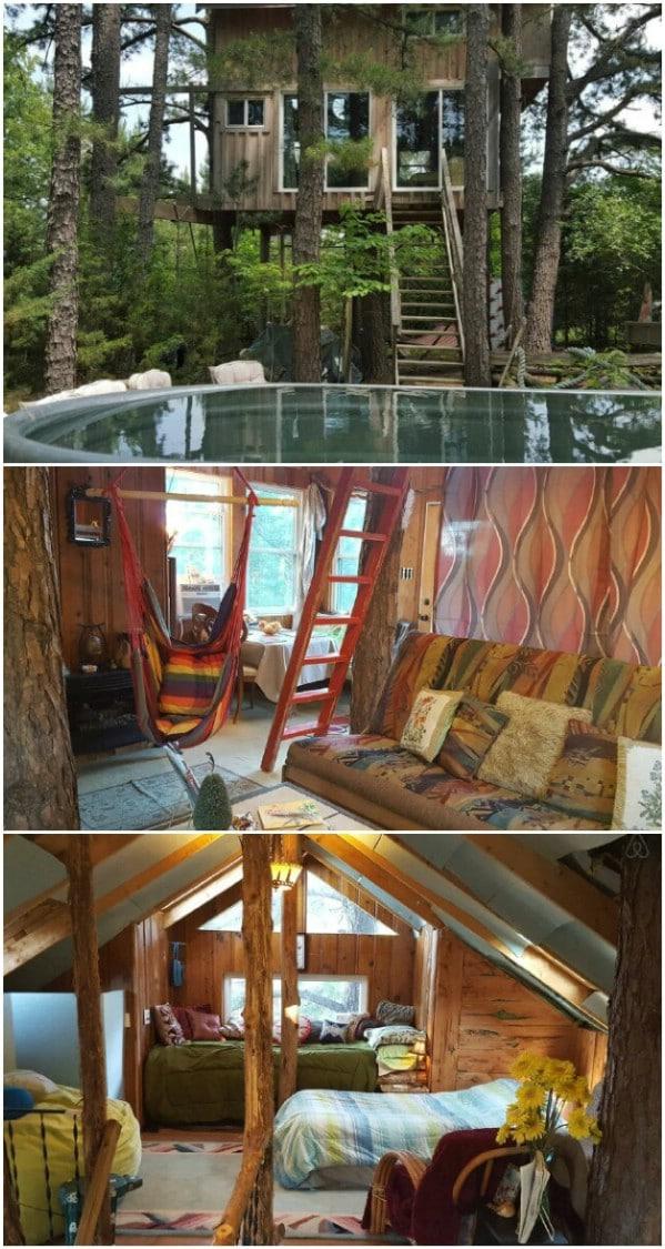 Treehouse Tiny House Farm Retreat in the Country