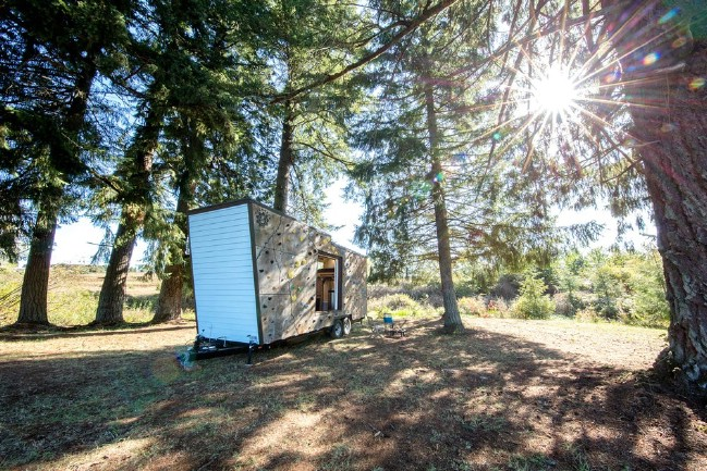 Climbing Enthusiast Couple Design Ultimate Tiny House for Adventurers