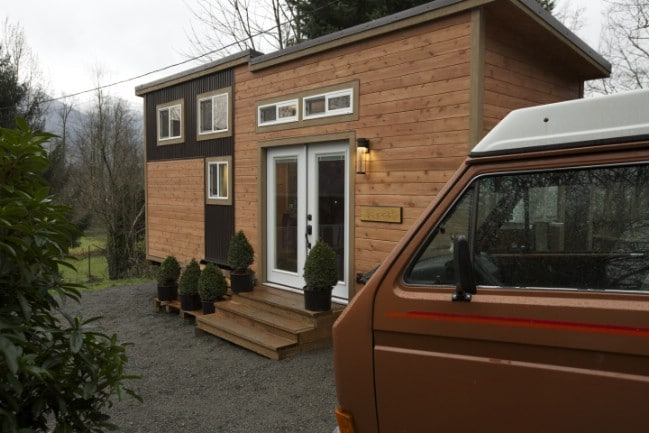 Spacious and Stylish 288 Square Foot Everett by American Tiny House