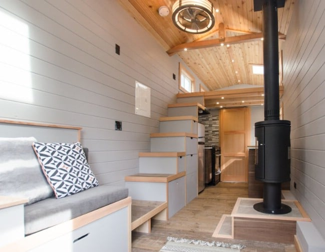 The Blue Heron from Rewild Tiny Homes