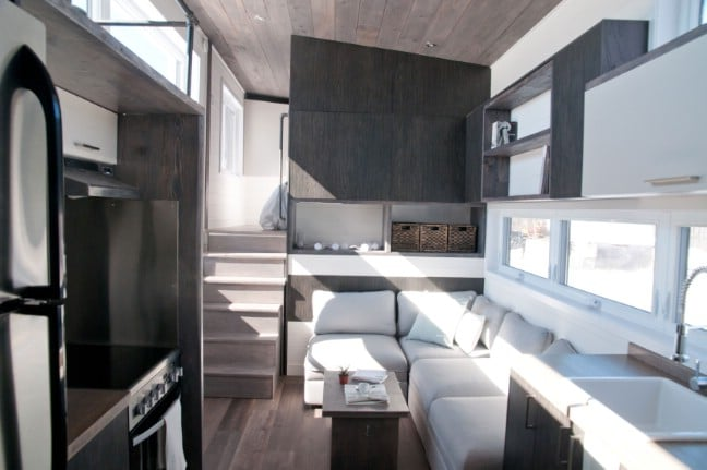 The 420 Square Foot Sakura Tiny House on Wheels by Minimaliste ... Tiny House Plans Ontario Canada on tiny home canada, modern house plans canada, holidays canada,