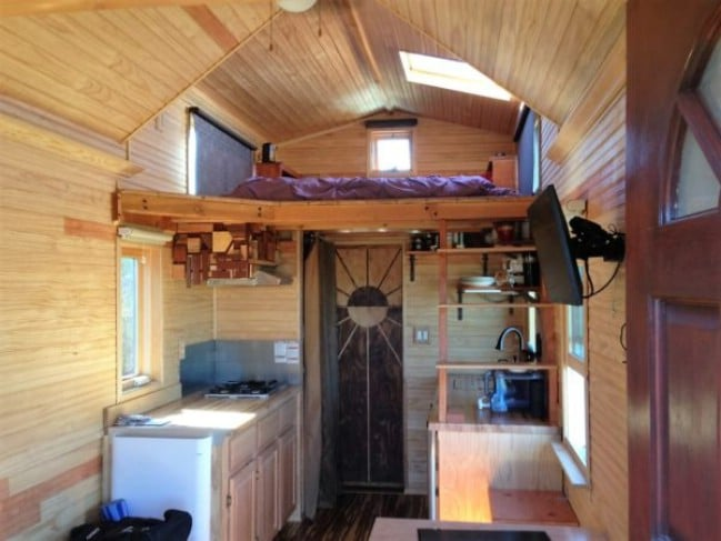 Delightful San Diego DIY Tiny House