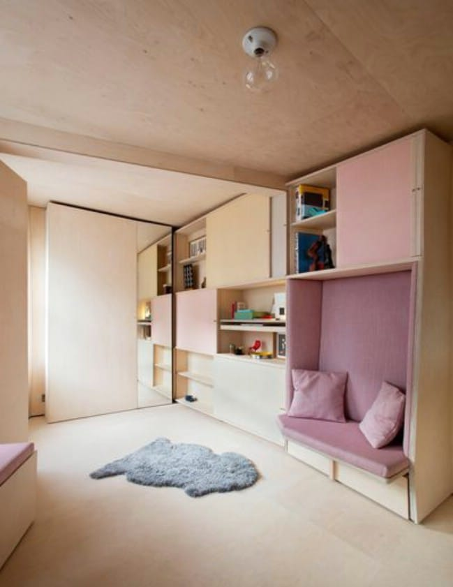 """Innovative Designers Address London's Affordable Housing Issue with """"13 Square Metre House"""""""