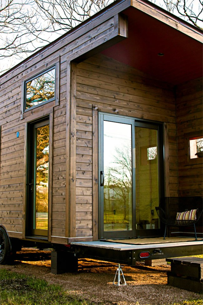 260 Square Foot Single Loft Model by Tex Zen Tiny Home Company