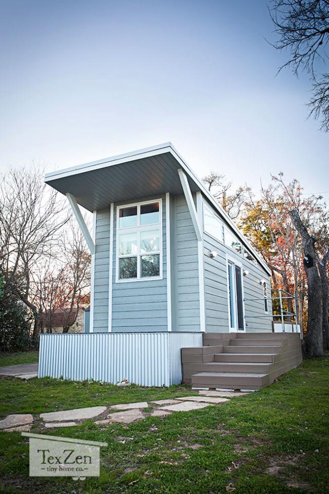 Open concept model by texzen tiny home company tiny house for Virtual tiny house builder