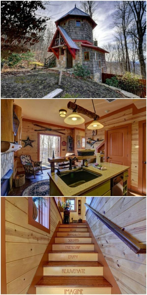 Blue Ridge Fairytale House