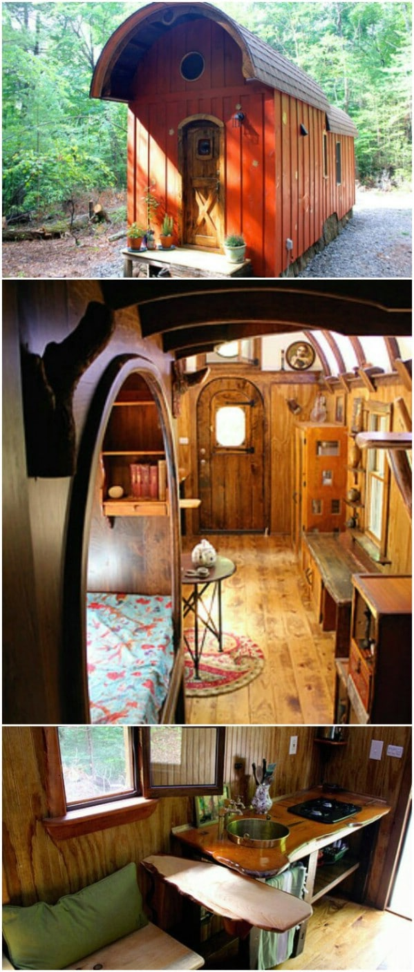 The Old Timey Caravan Tiny House