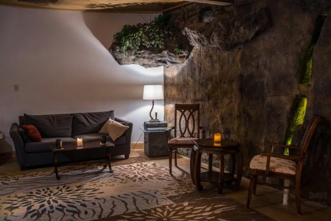 Bedrock Cave Tiny House