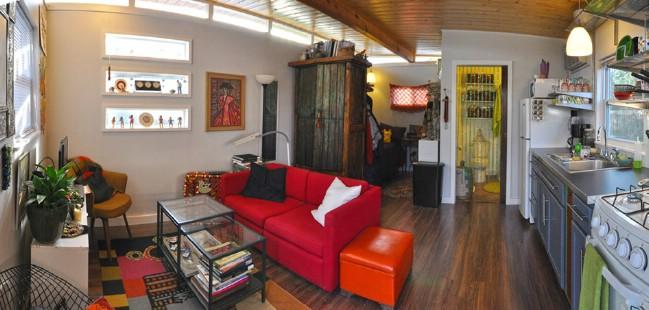 14x20 Modern Cabin Tiny House by Kanga Room Systems - Tiny ...
