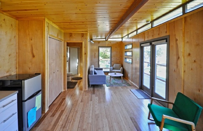 14x24 Modern Cabin-Style Tiny House by Kanga Room Systems ... on