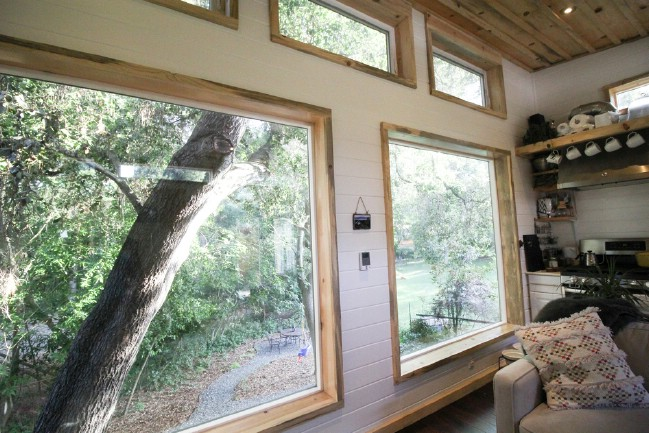 392 Square Foot Tiny House by Portable Cedar Cabins