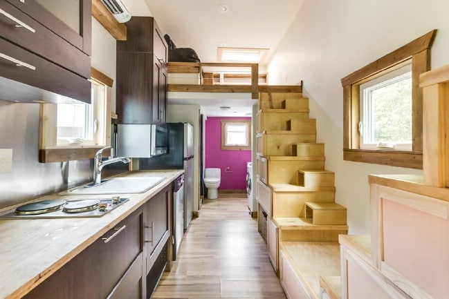 Unique and Colorful 312 Square Foot Tiny House for Sale in Chattanooga
